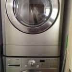 High-End Front-Loading Washer and Dryer