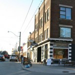 Sideshow Cafe - the neighbourhood cafe - just at the end of Redwood Ave.